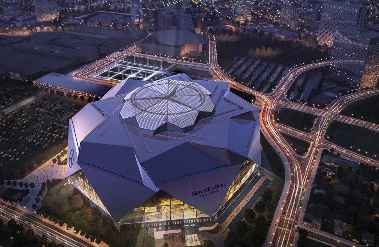 Mercedes-Benz Stadium Tour