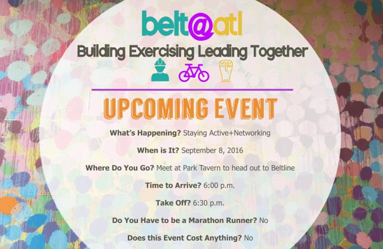 belt@atl Networking on the BeltLine