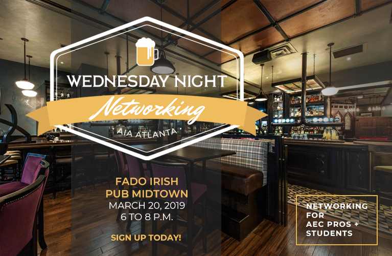 Wednesday Night Networking at Fado Irish Pub
