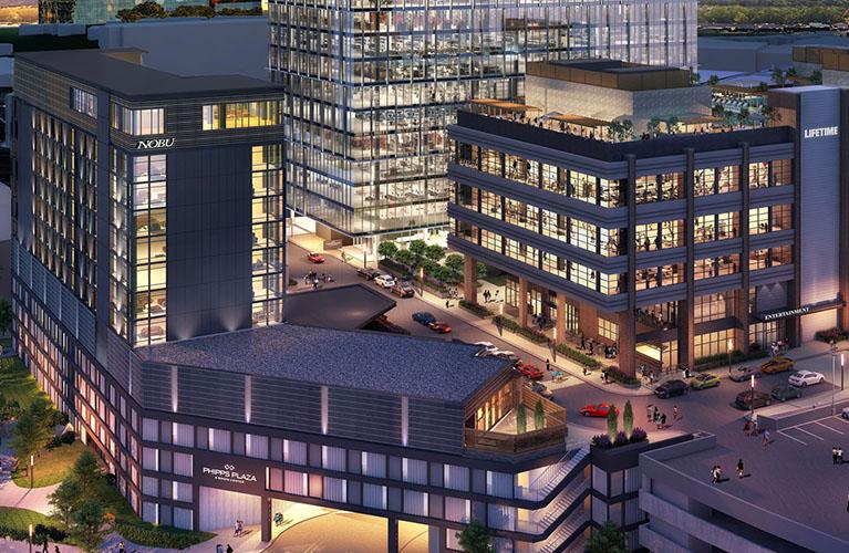 Phipps Beck Plaza rendering