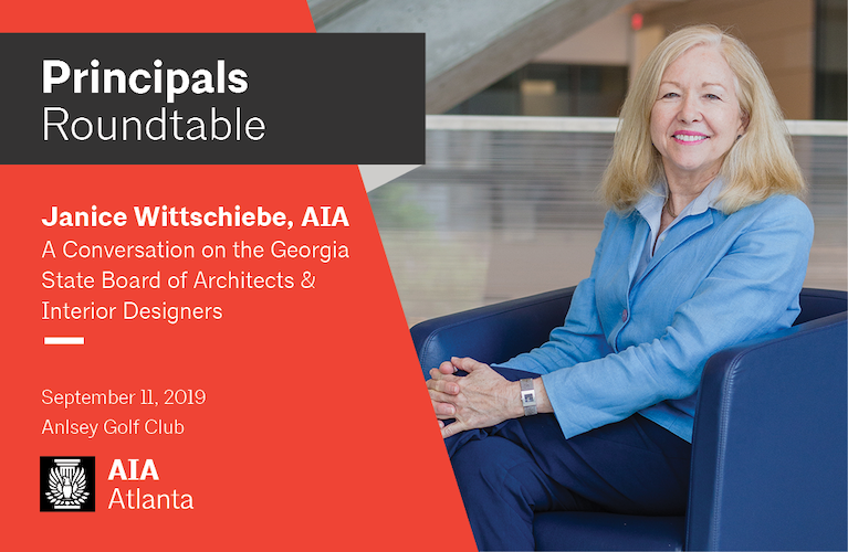 Principals Roundtable with Janice Wittschiebe, AIA